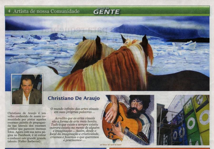 Jornal de Gente - Toronto - March 2012