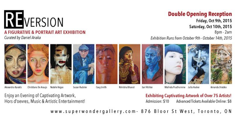 The Super Wonder Gallery – REVERSION – Toronto 2015