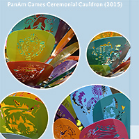 20 PanAm Games Ceremonial Cauldron 2015 Media Coverage Thumbnail