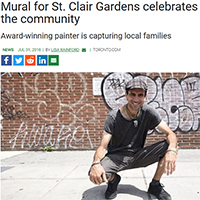Christiano De Araujo - Toronto Mural Painter and Portrait Painter